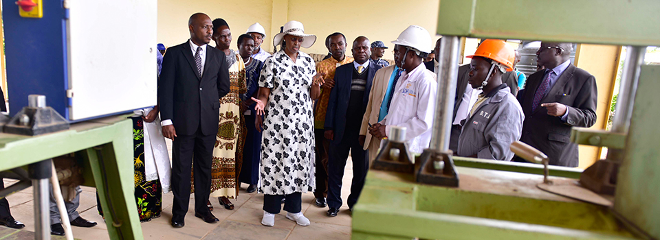 First Lady officiates at Buhimba Technical Institute – Hoima