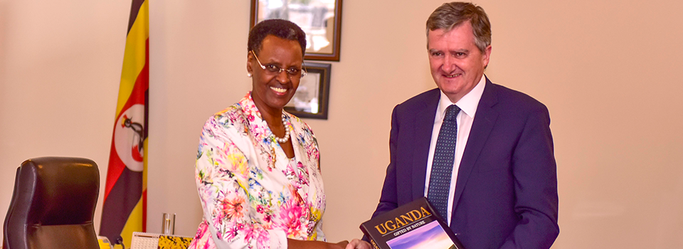 First Lady and Irish Ambassador discuss improving quality of Education 14/11/2018