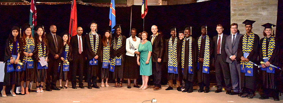 First lady lauds heritage international school for twenty-five years educating children in Uganda