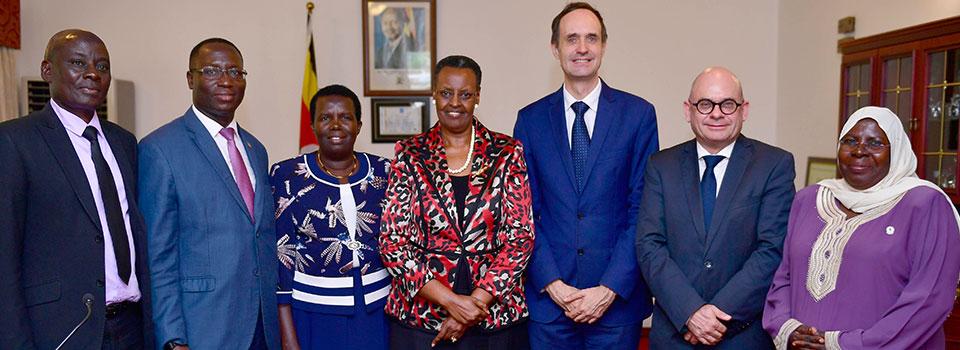 First lady bids farewell to outgoing Belgian Ambassador